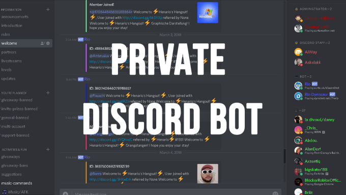 setup your discord server
