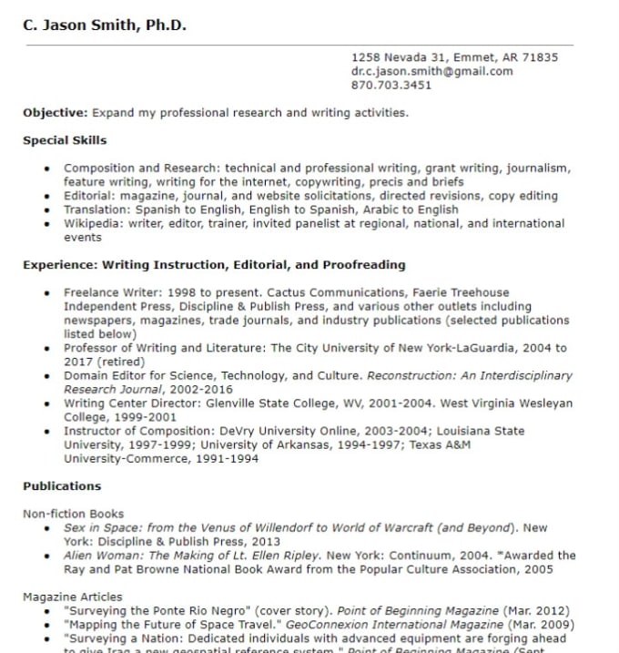 Edit and spin your resume and cover letter by Doctorjason
