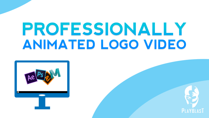 create motion graphics animated logo videos