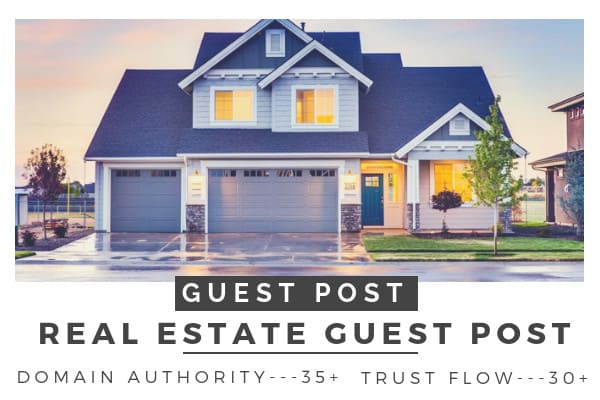 do guest post on real estate blog, real estate guest post