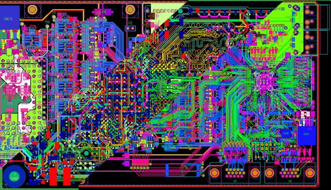 Design very complex pcb layouts by Sudu_malli