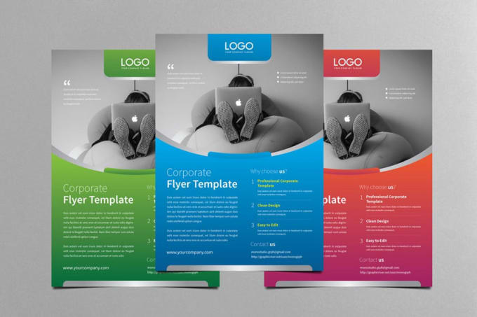 professional flyer brochure poster design fiverr