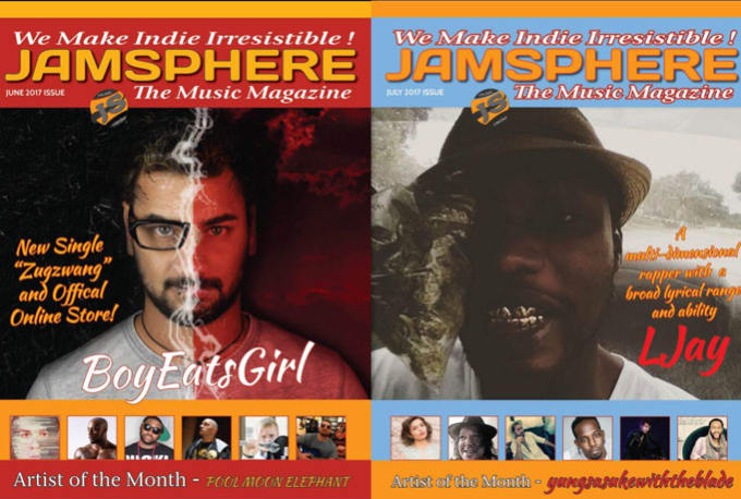 give you the jamsphere pro music review pack for online, digital and print  mags