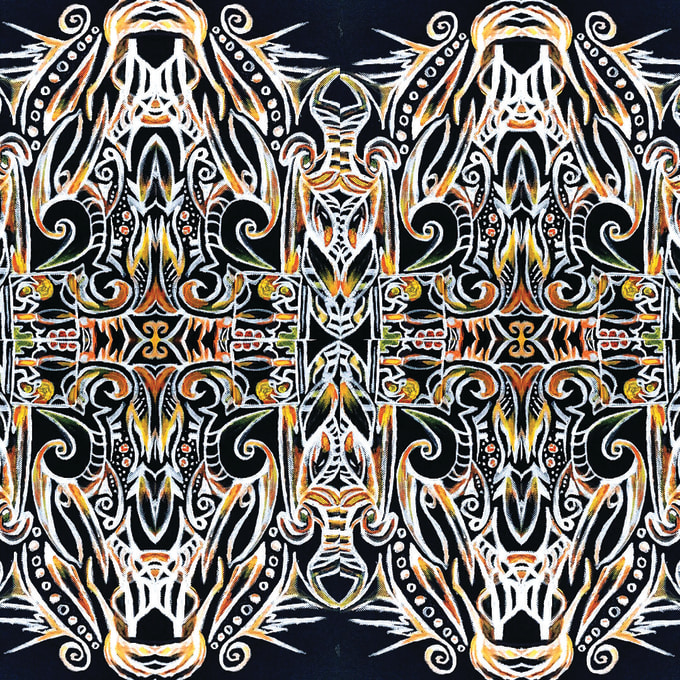 Draw Psychedelic Pattern Designs