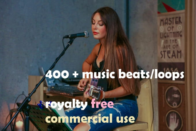 give you more than 400 music beats commercial use
