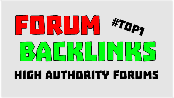 strong forum profile manual backlinks 75 authority pages