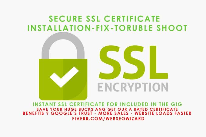 Installfix Free Ssl Certificate On Your Website By Webseowizard