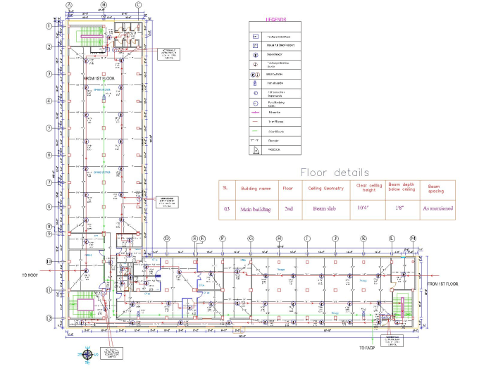 draw your fire alarm system design using autocad 2d