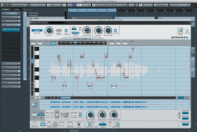 autotune your recorded vocals