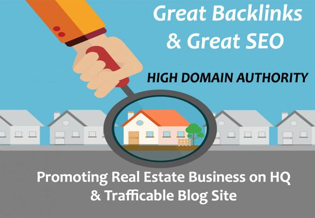 write guest post on real estate blog da50 pa40