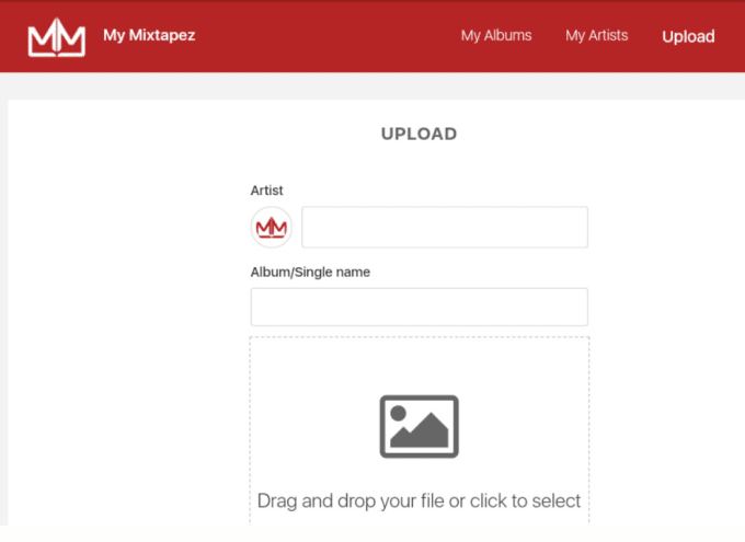 acehalf : I will grant you mymixtapez artist account to upload mixtapes for  $150 on www fiverr com
