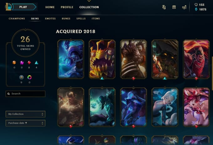 league of legends create an account