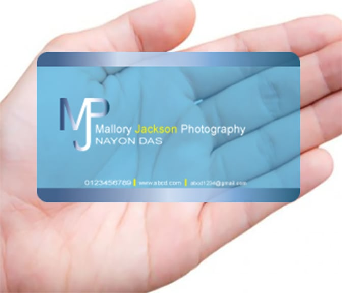 Do Modern Transparent Plastic Business Card By Nayonmonidas