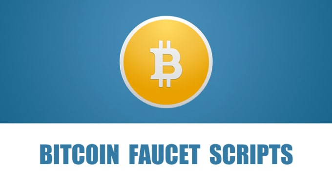 create bitcoin or other cryptocurrency faucets website