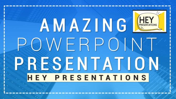 design or redesign an amazing powerpoint presentation by heypresentation
