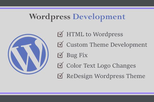 Create custom theme for wordpress by Arijit94