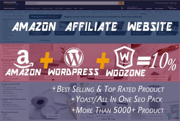 Build Amazon Affiliate Website Store In Wordpress