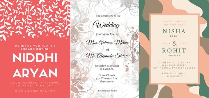 Ritusingh250 I Will Design Invitation Card Event Shootout For 5 On Www Fiverr Com