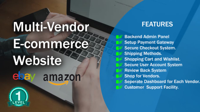 develop professional multi vendor ecommerce store for you