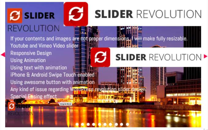 quickly fix and create super revolution slider