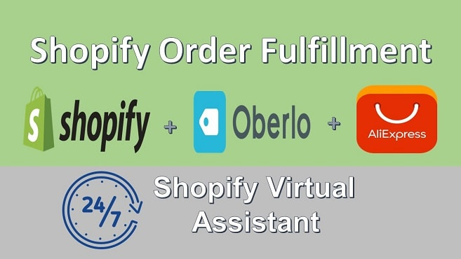fulfill shopify orders using oberlo to aliexpress
