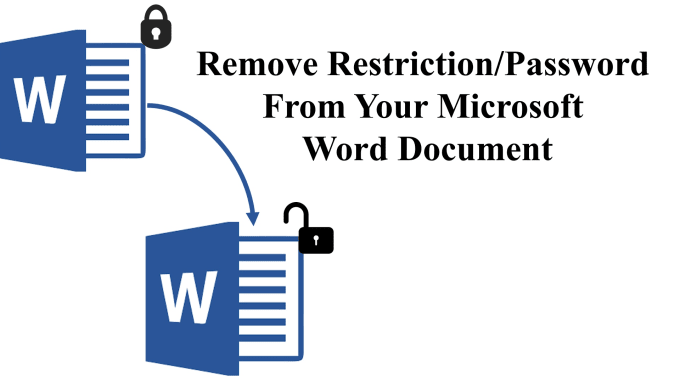 remove password protection from word