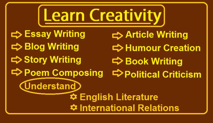english creative writing tips