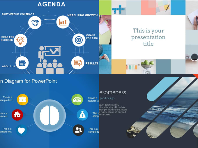 create custom powerpoint slides for presentation by darklord18