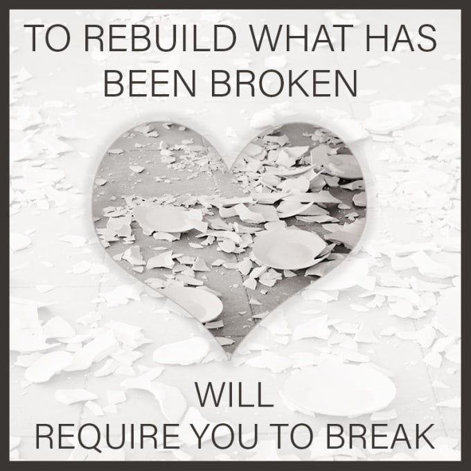 How to rebuild a damaged relationship