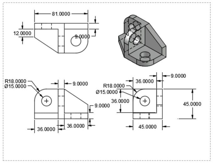 Draw a 2d drawing with solidworks or 3d cad invent patent ...