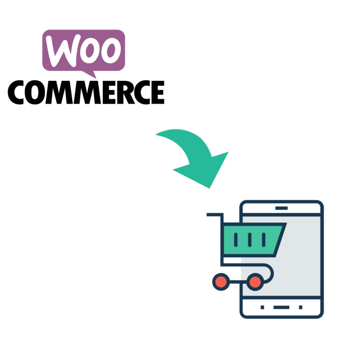 convert your woocommerce store into native android app