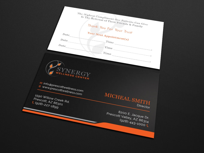 Design amazing business card for you by olasdesign design amazing business card for you colourmoves
