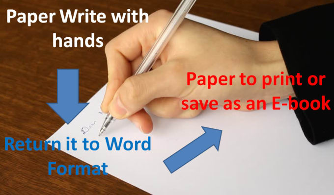 write 1000 word from paper to words for your book or search
