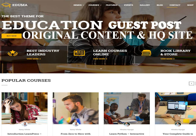 write guest post on education site permanent dofollow da50