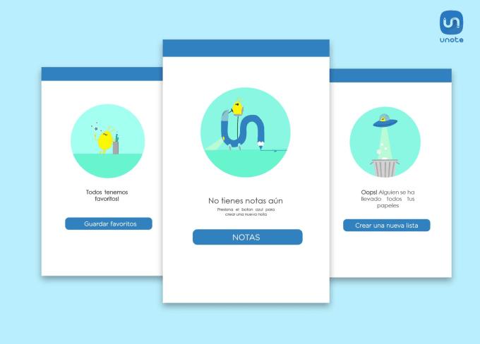 create a fun app illustrations