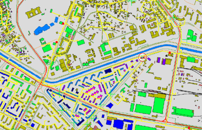 create maps using spatial softwares arcgis, qgis, erdas