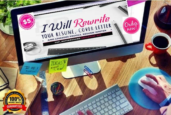 Write, design and edit best resume, cover letter, linkedin by ...