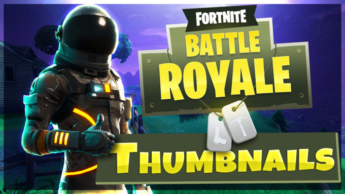 Design Two Clicky Fortnite And Gaming Youtube Thumbnail By