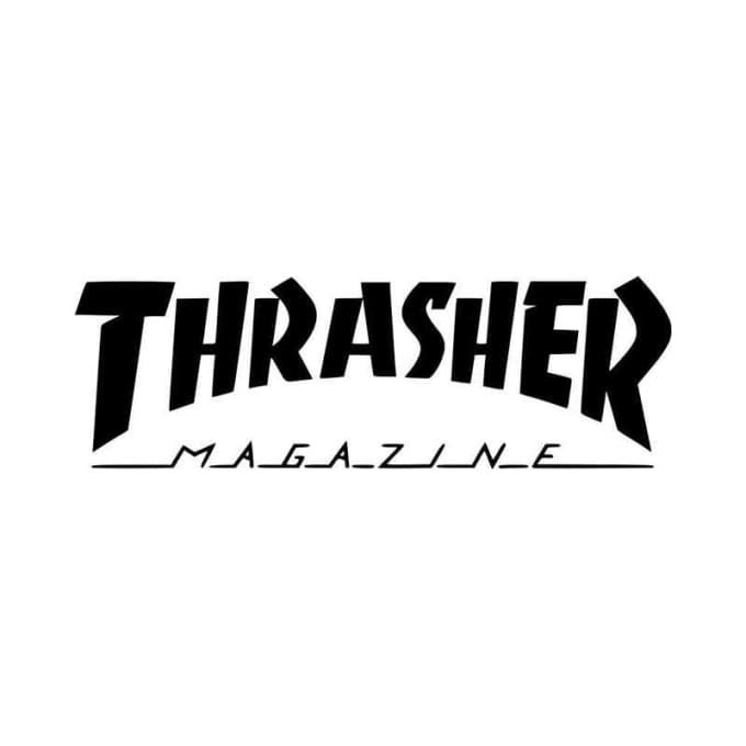 Make A Custom Thrasher Or Supreme Logo For You By Sirj34