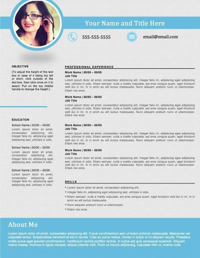 Do An Attractive Cv Design Resume Design Writing Is Extra By Aliahxaan