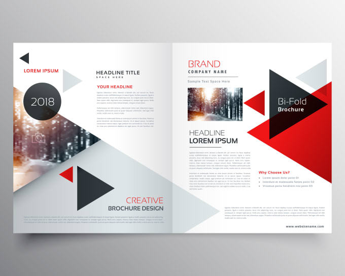 design professional brochures and flyers by sandippatel300