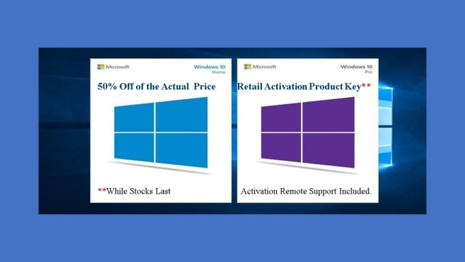 how much does a windows activation key cost