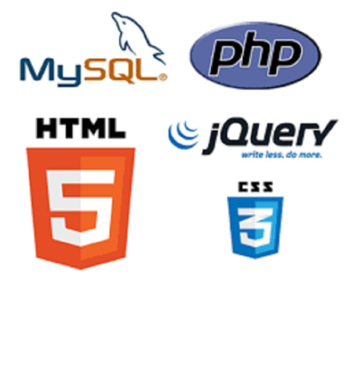 do web projects websites in php html css java