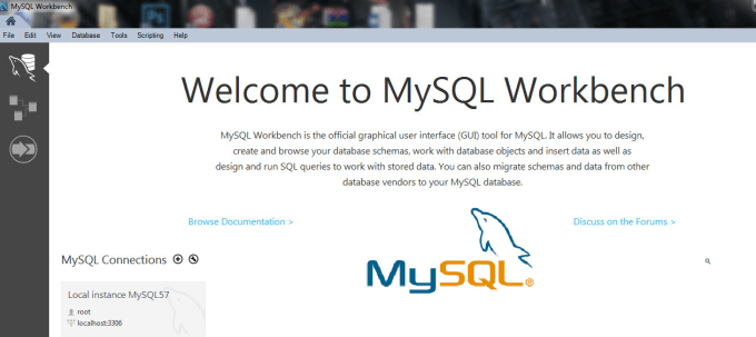 do mysql database related work