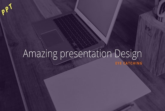 create amazing professional powerpoint presentation design by