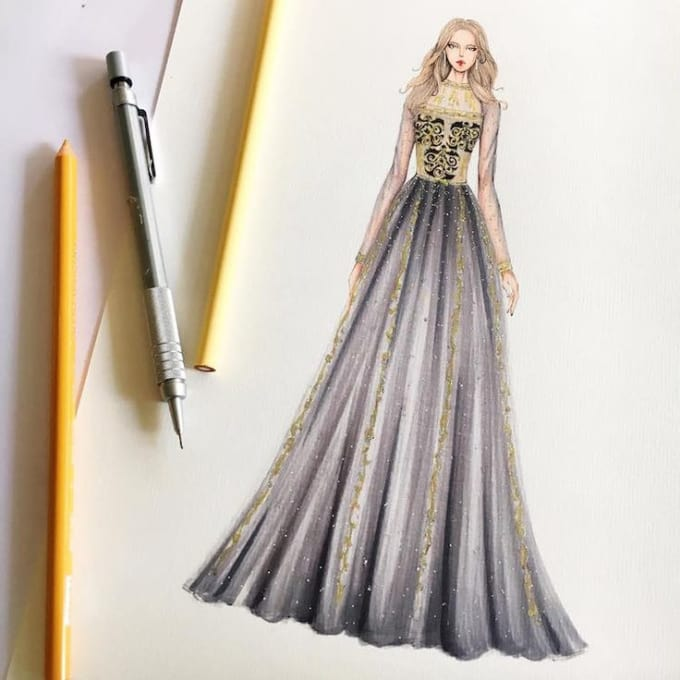 krssmaria : I will help you to design fashion sketching idea for $5 on  www.fiverr.com