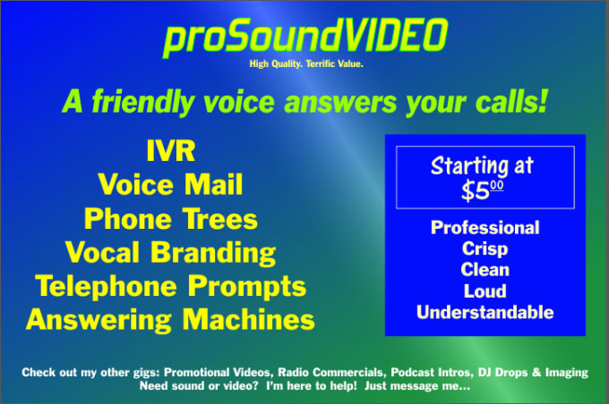 Pbx voicemail ivr prompt message greeting answerin create greetings and prompts for voice mail ivr and telephone answering systems m4hsunfo