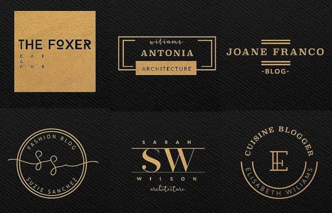 create an elegant minimal logo