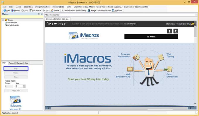 Script Imacros
