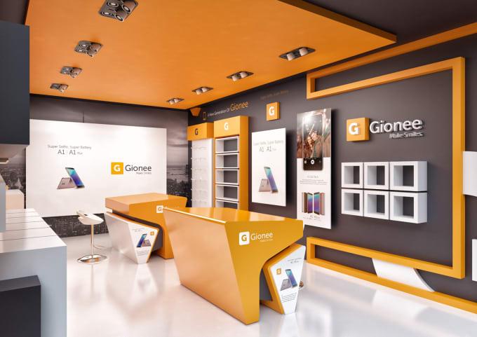 Exhibition Stand Design Graphic : Do exhibition stand design and graphic design by saleesh